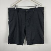 Billabong Mens Shorts 40 Grey Plaid Pockets Bermuda