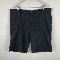 Billabong Mens Shorts 40 Grey Plaid Pockets Bermuda
