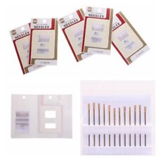 60 Self Threading Sewing Needles Easy Thread Hand Sewing Assorted Sizes