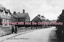 ST 34 - Church Street, Whittington, Staffordshire - 6x4 Photo