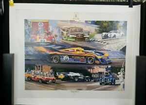 50 Years of Watkins Glen - The Grand Prix Years print by Nicholas Watts, 1998
