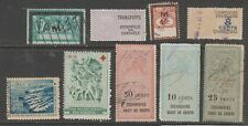 France Revenue fiscal stamp ml680 cinderella mix