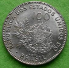 Le Brésil Brazil 100 reis 1901