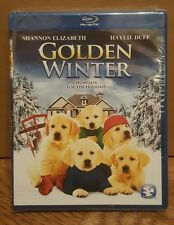 GOLDEN WINTER: Homeless for the Holidays-Christmas-Shannon Elizabeth-NEW BLU RAY