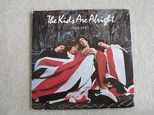 THE WHO: The Kids Are Alright, 1979 UK Double vinyl LP, Good Condition
