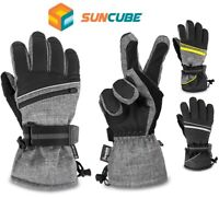 Waterproof Winter Thermal Ski Gloves Snow Insulated Warm Snowboard Hiking Men