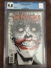 Batman Detective Comics 880 CGC 9.8 Classic Jock Cover