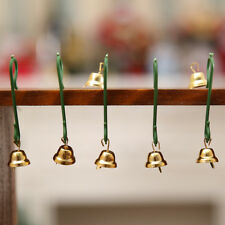 20Pcs Christmas Tree Mini Little Bells Ornaments Home DIY Hanging Decor Showy