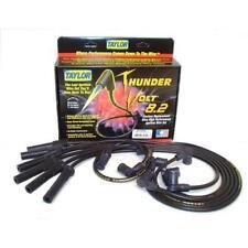 Taylor Spark Plug Wire Set 87084; ThunderVolt 8.2mm Black for Volkswagen 6cyl