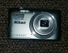Nikon COOLPIX S3700 20.1MP Digital Camera - works great no charger cord