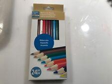 New listing 24 Artist's Loft Watercolor Pencils , shading, blending Arts Crafts scrapbooking