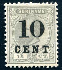 SURINAM 1898 36II ungummiert 100€(48828