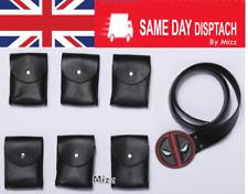 Mejor Deadpool Cinturón X-men Superhero Accesorios Disfraz Cosplay accesorios de cuero PU