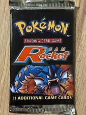 Unlimited 1999 Team Rocket Factory Sealed Pokemon Booster Box Pack Design 1