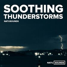 Soothing Thunderstorms Relaxation CD Natural Sounds Sleep Stress Relief Tinnitus