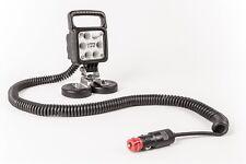 LED Arbeitsscheinwerfer 2000 lm Griff, Magnet, Spiralkabel 12V KFZ, 100X100MM