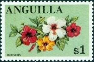 ANGUILLA - 1968 - Exotic Flower - Hibiscus - MNH Definitive Stamp - Scott #29