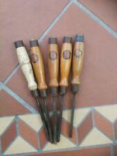Vintage chisels SORBY TITAN WARDWOOD
