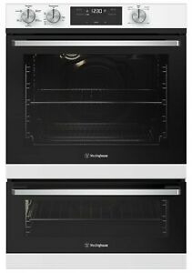 Westinghouse 60cm Electric Oven Separate Grill White Model WVE665WC RRP $1449.00