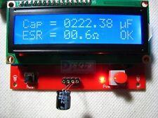 Backlight Capacitor ESR Tester Capacitance Equivalent Series Resistance Meter