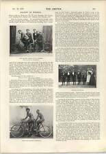 1898 Singles Turned Tandem Charles Thursby Lionel Lawrence