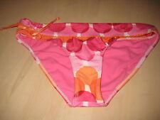 Raisins Swimwear Large Womens New Pink Red Orange Multi Banded Bikini Bottoms