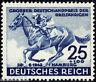 Deutsches Reich 814 , ** , * , o , Bfst. Blaue Band 1942