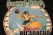 "Sacred Reich ""Surf Nicaragua"" - New Large T-Shirt"