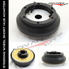 Fit For Steering Wheel Short Hub Adapter Mitsubishi Eclipse Subaru Impreza WRX
