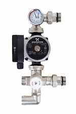 Grundfos Underfloor Heating Manifold Pump Control Pack Blending Valve A-Rated