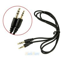 2.5mm to 3.5mm Male Headphones Headset Jack Stereo Speaker Audio Adapter Cable