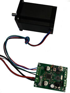 Einfache Schrittmotorsteuerung mit Poti u. Schalter für Nema 17  21 Schrittmotor