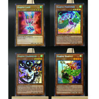 Yugioh ORICA 4x-Playset: Harpie Lady Collection (Holo) UNCENSORED Art | Orica