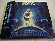 AC/DC-Ballbreaker JAPAN 1st.Press w/OBI BOX Kiss Iron Maiden Black Sabbath Rush