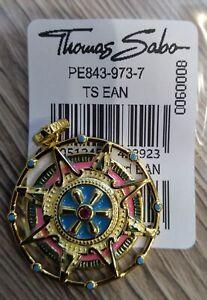 Thomas Sabo Bead PE843-973-7 Gold Plated Amulet Ag925