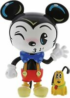 Disney Showcase The World of Miss Mindy: Mickey Mouse & Pluto Vinyl Figure - NEW