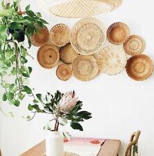 Vintage Rattan Basket - Wall Hanging Collection