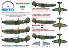 Montex Super Mask 1:48 LaGG 3 for ICM #3 Spraying Stencil #K48166