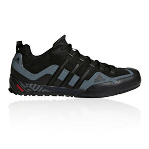 adidas Mens Terrex Swift Solo Approach Shoes Black Sports Outdoors Breathable