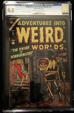 1954 Atlas Adventures into Weird Worlds #27 CGC 4.0 Cream to Off White Pages