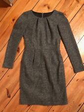 Kleid STRENESSE, Wolle, grau, Gr. 36, edel