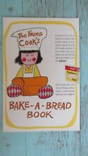 Vintage Fleischmann's Yeast Young Cook's Bake a Bread Book Booklet 1965 Recipes