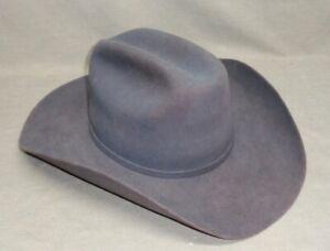 Stetson Cowboy Hat Size 7 3/8