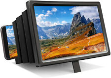 Folding Mobile Phone Screen Magnifier 3D HD Screen Amplifier Stand Bracket US