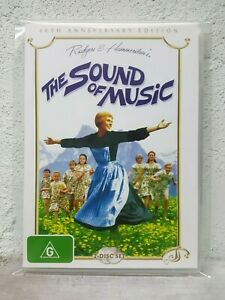The Sound Of Music DVD 1965 Julie Andrews Musical - 40th Anniversary Edition