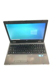 """HP ProBook 6560b 15.6"""" Core i5 2520M 8GB RAM 320GB HDD Win 10 Pro"""