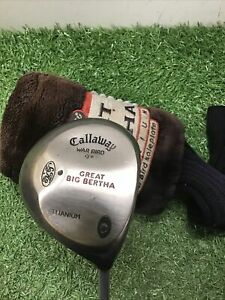 Callaway Great Big Bertha War Bird 9 Degree Driver