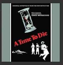 ENNIO MORRICONE (COMPOSER/CONDUCTOR) - A TIME TO DIE USED - VERY GOOD CD