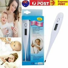 Digital LCD Medical Thermometer Heating Fever Temperature Baby Body Adult Kids