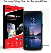 ZIZO TEMPERED GLASS Clear Screen Protector .33mm 9H For Samsung Galaxy S8 Active